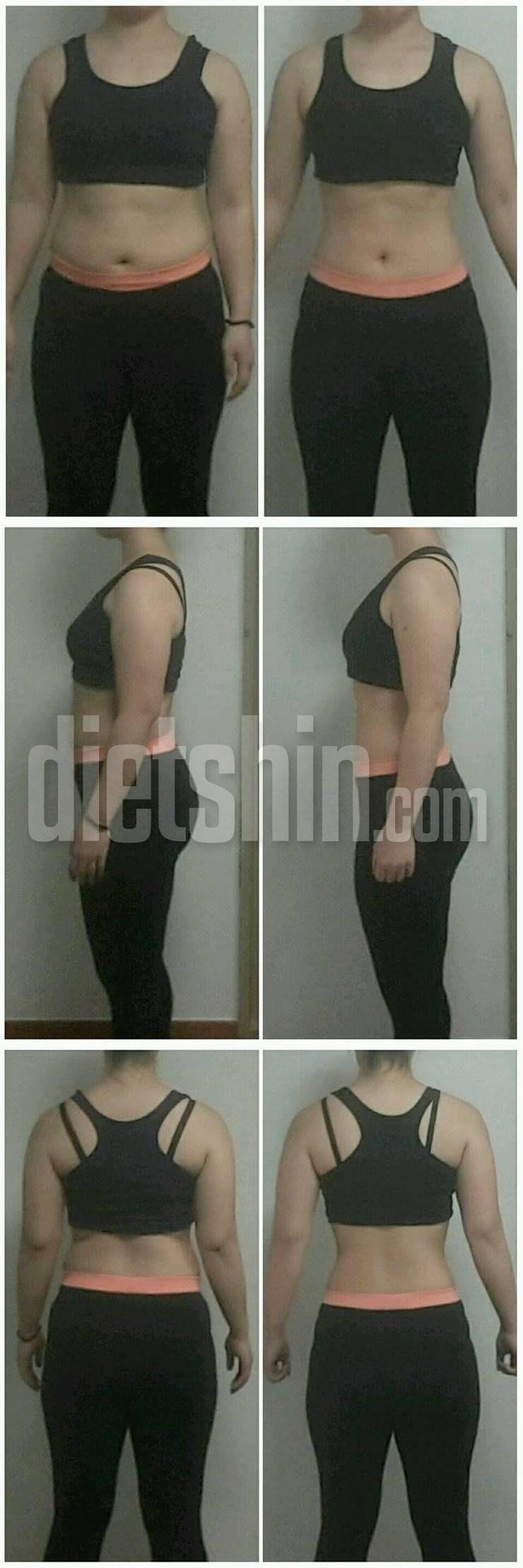 4주간 체지방 7.2kg 감량! 비포앤애프터 공개!