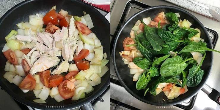 칼로리 쏙 뺀  `닭가슴살 프리타타`!