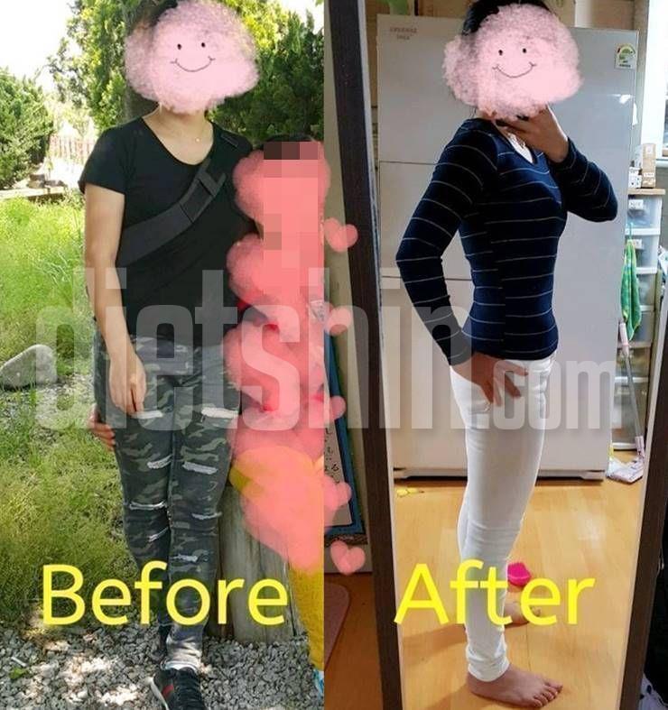 57kg→49kg, 30일만에 8kg 빼는 다이어트 팁!