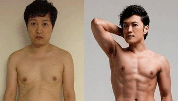개그맨 문천식, 복근남으로 변신!(13kg 감량)