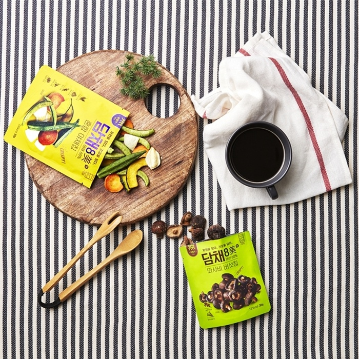 담채 8미 와시비 버섯칩 체험단 발표