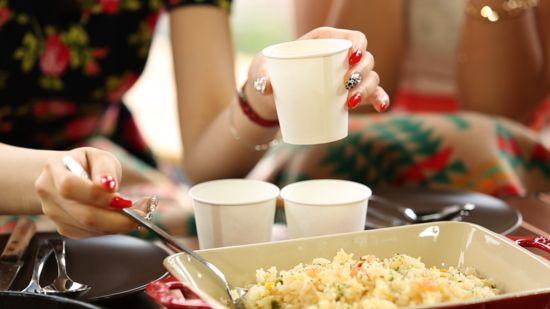 식사량 줄이기가 쉬워지는 `종이컵 다이어트`