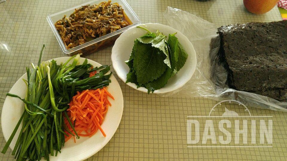 두부시래기김밥