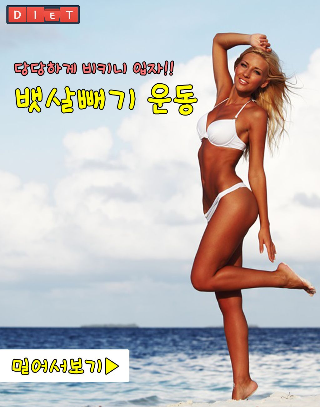 [운동]뱃살빼기-쟁기자세,균형잡기