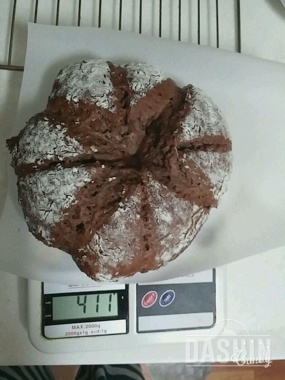 저칼로리 고단백 초코프로틴빵 만들기(다이어트하는 홈베이커의 발악)
