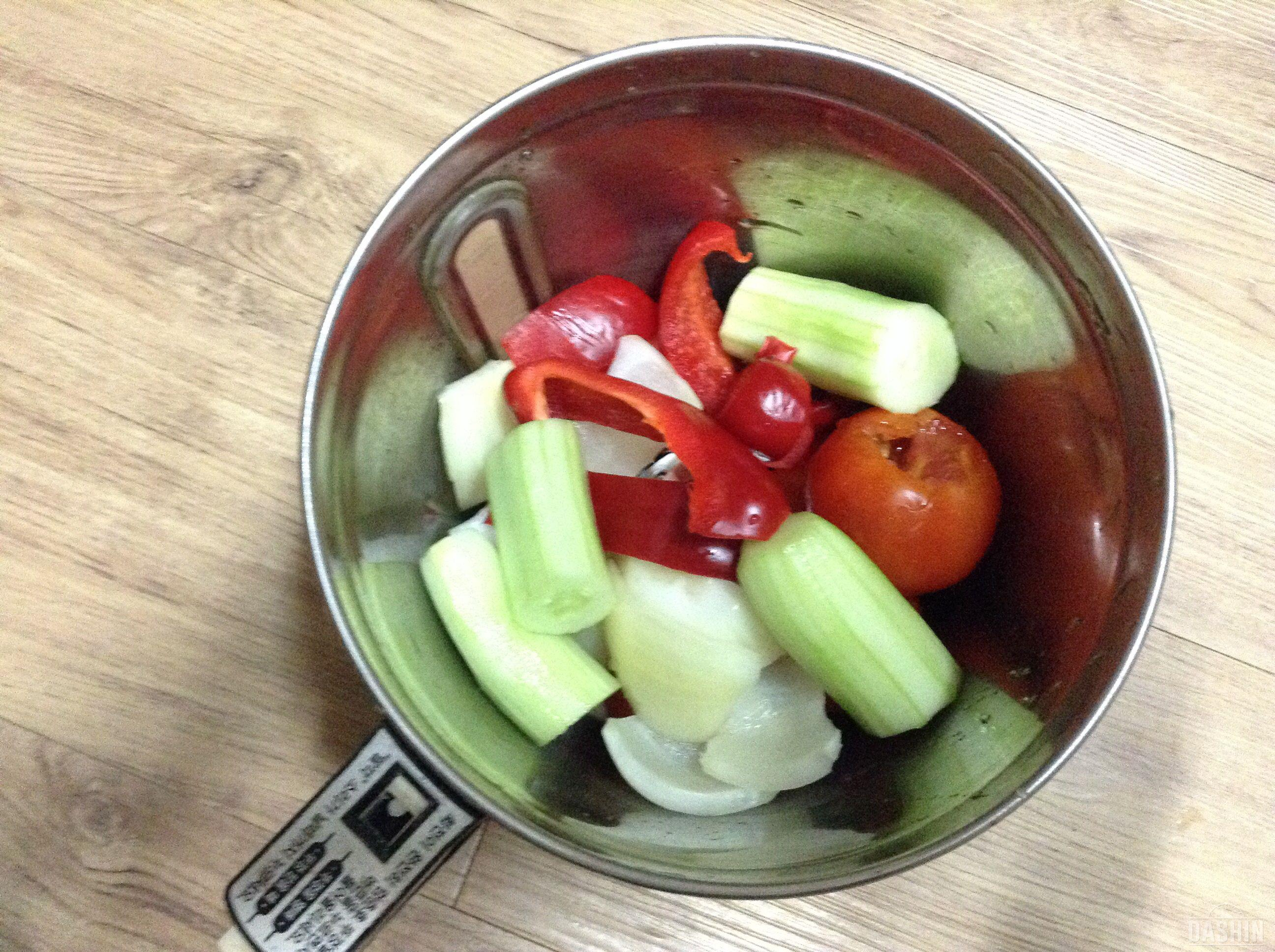 간단한 토마토냉스프