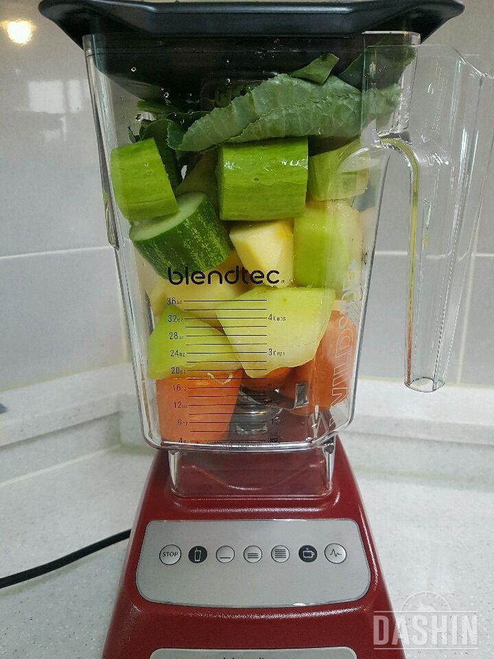 야채,과일스무디로 건강하게