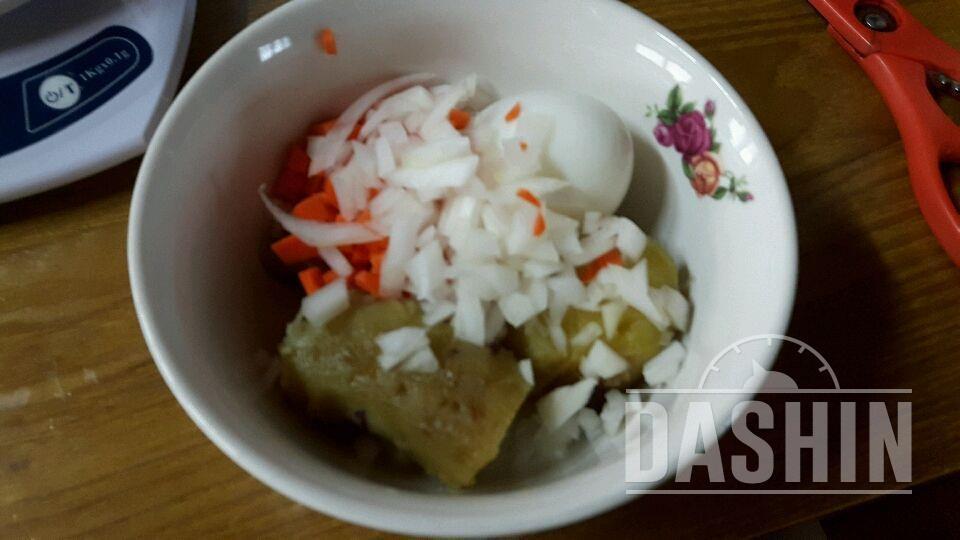 NO😑마요 고구마샐러드 + 식빵 고구마 카나페