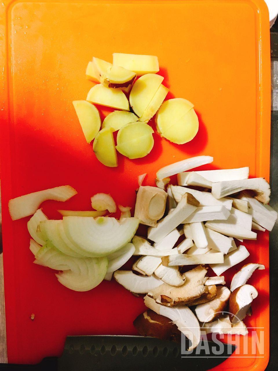더라이트 / 버섯 고구마 프리타타