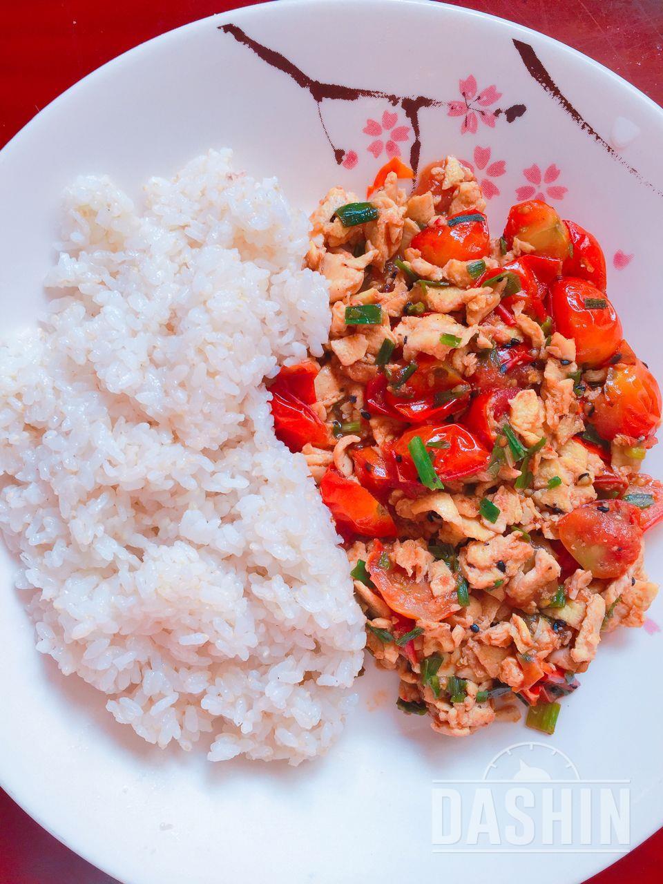 토마토계란밥