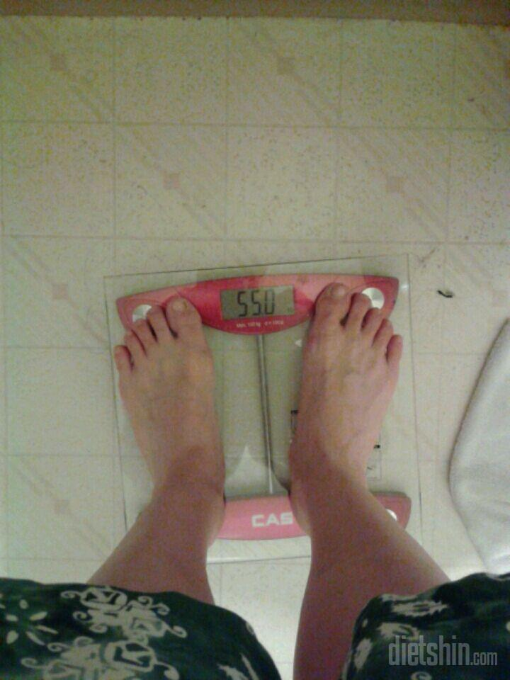 다이어트 두달.63에서...