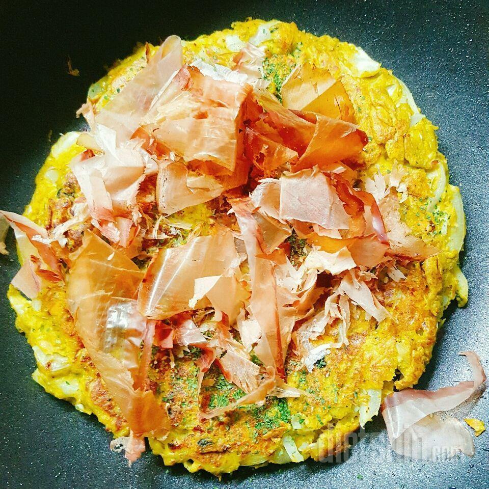 단호박 오코노미야끼 (약 300kcal)