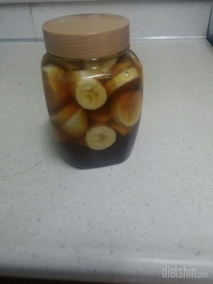바나나 식초!!