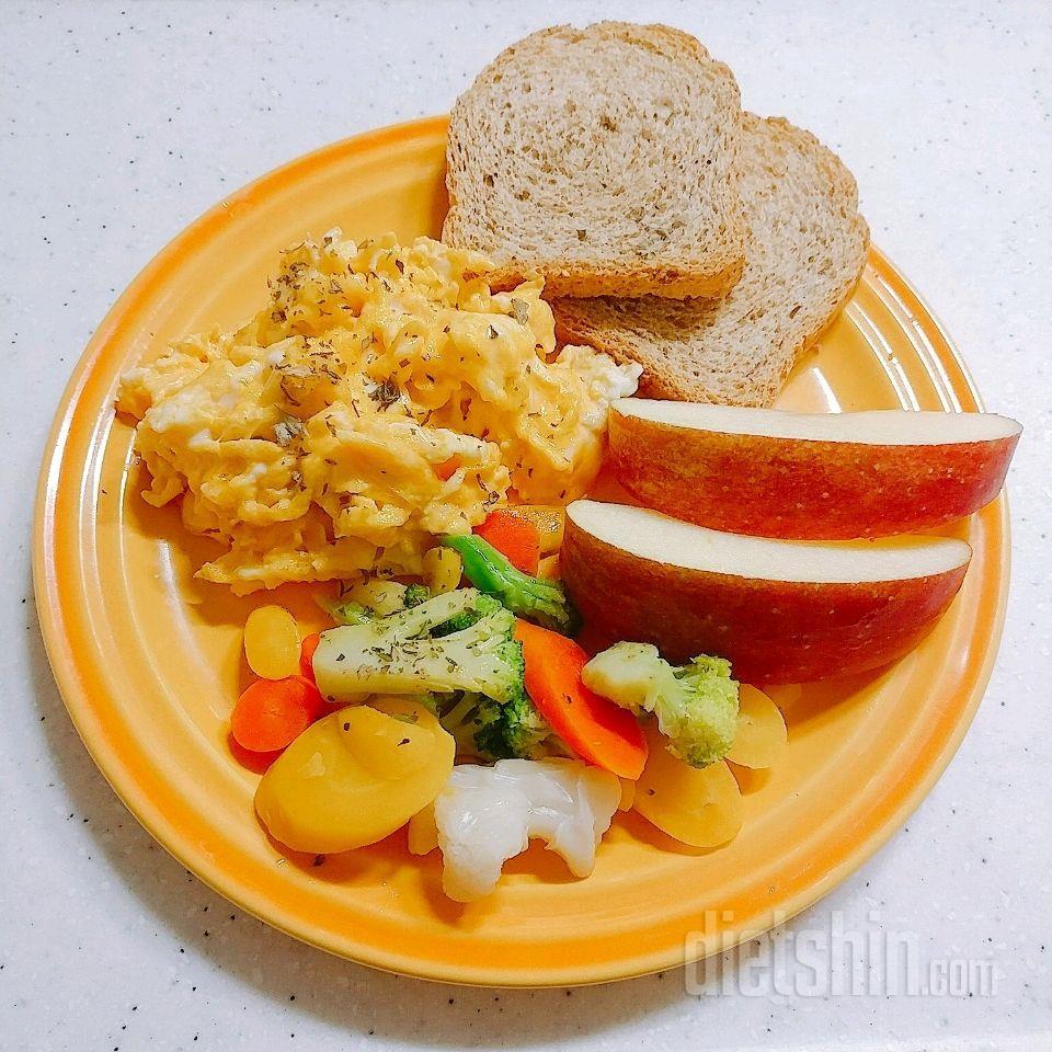 354kcal 아침식사