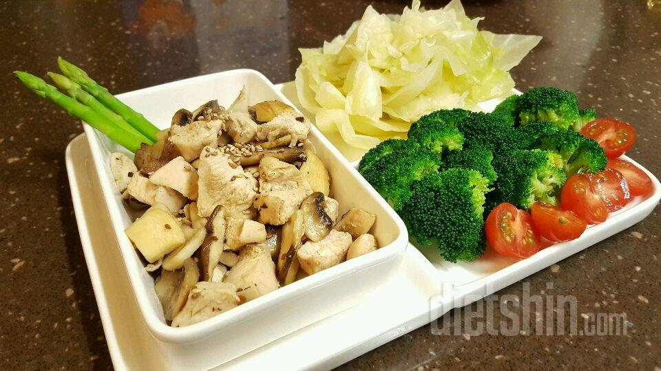 닭가슴살 버섯조림