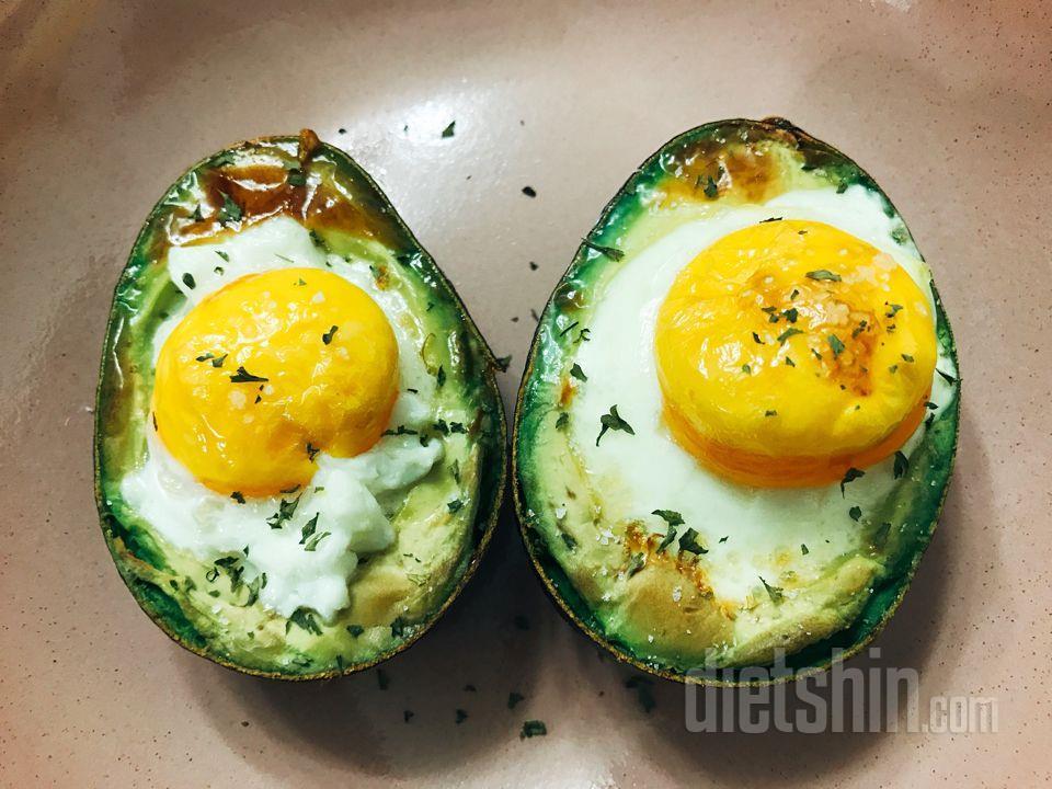 아보카도+계란