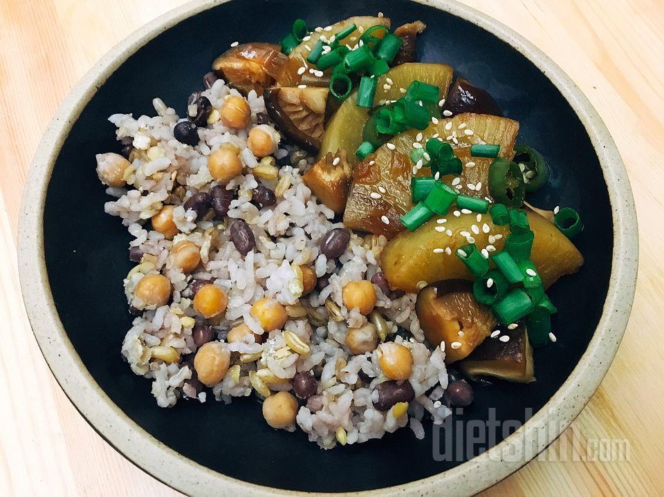 짝퉁 정글래미밥&무버섯조림