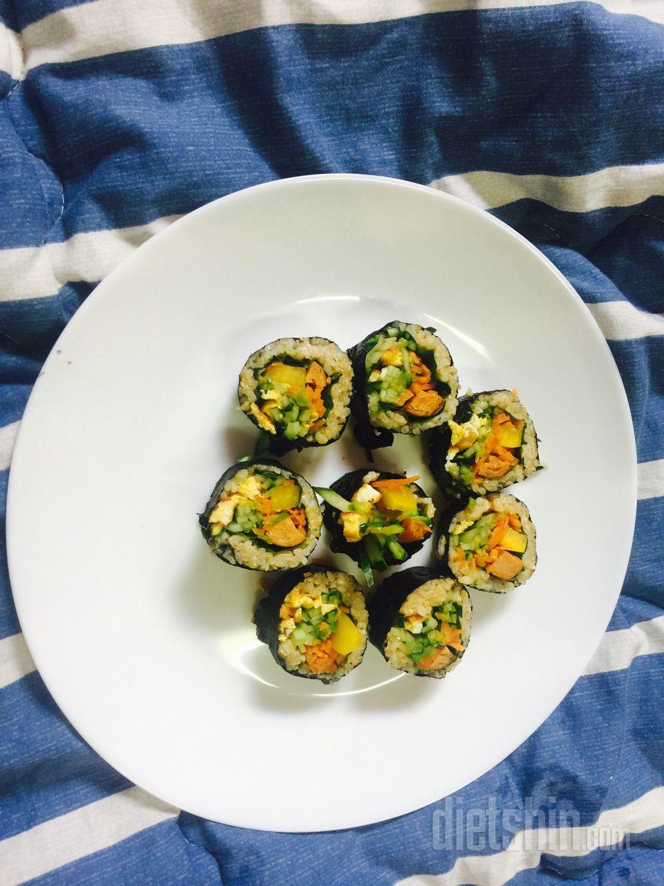 다이어트김밥
