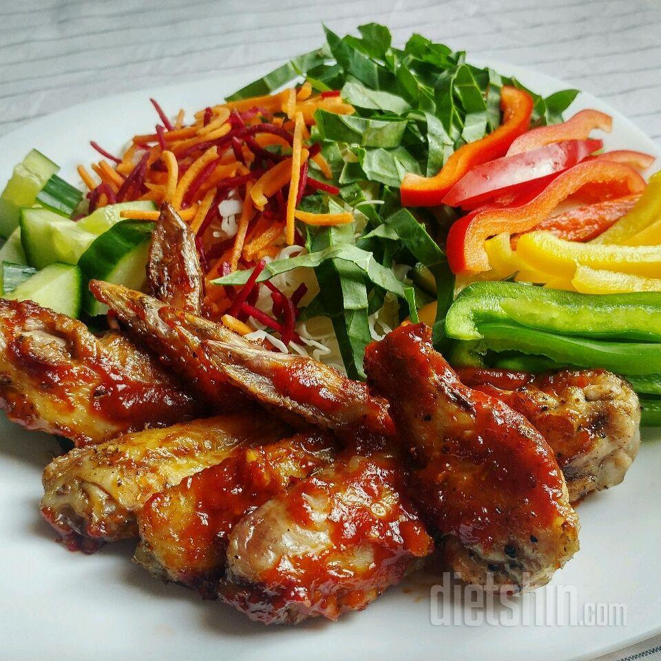 에어 프라이어 닭튀김