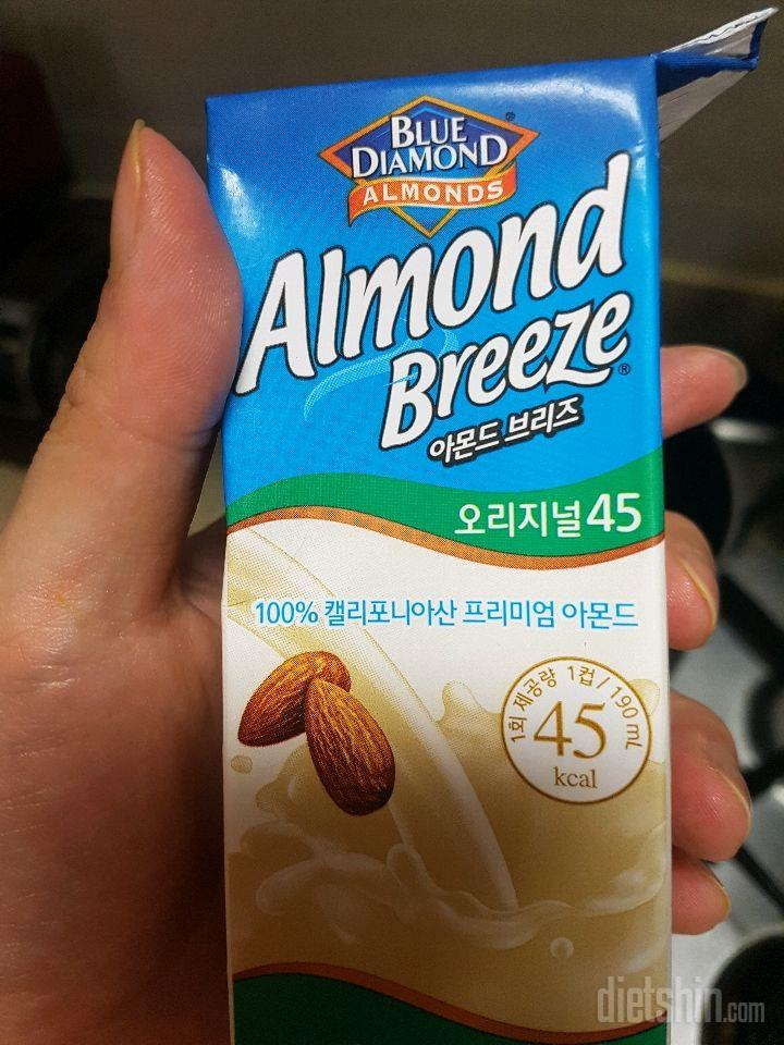 [아몬드브리즈 오리지널] 두유 단호박스프