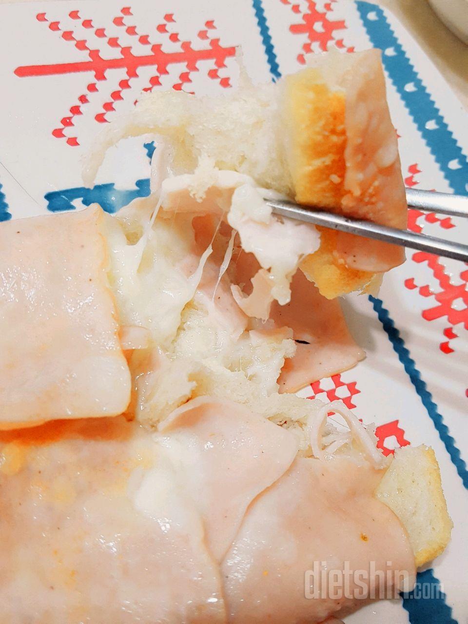 250칼로리 치즈 햄쌈