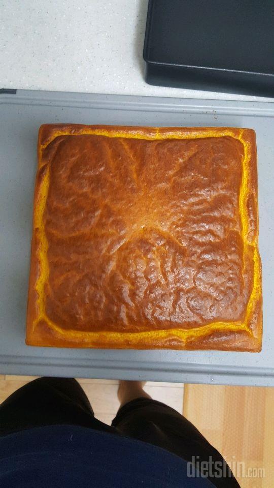 다이어트 단호박 프로틴케익