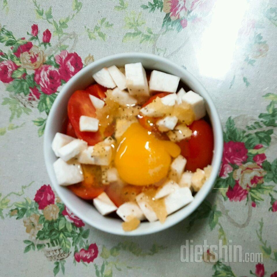 전자렌지 토마토수프