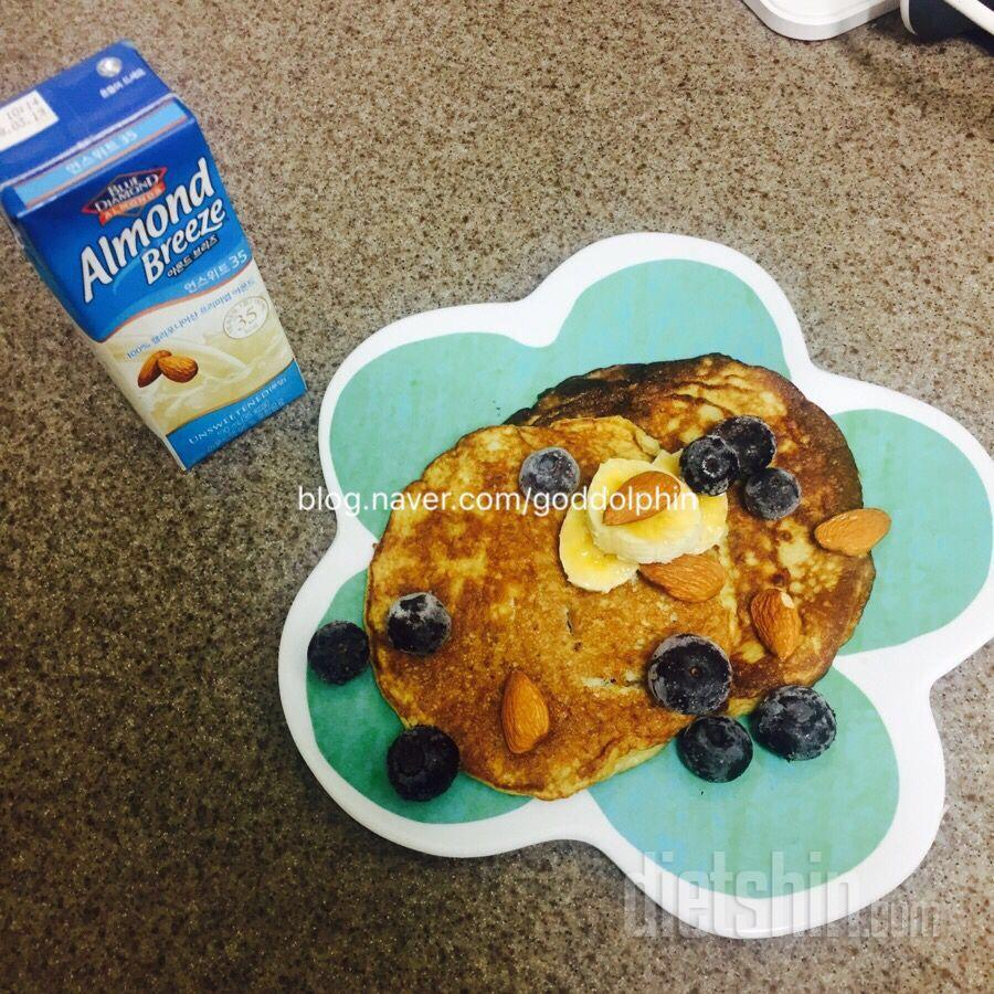 밀가루없이 계란2개로 팬케이크!!! 계란후라이보다 쉽다