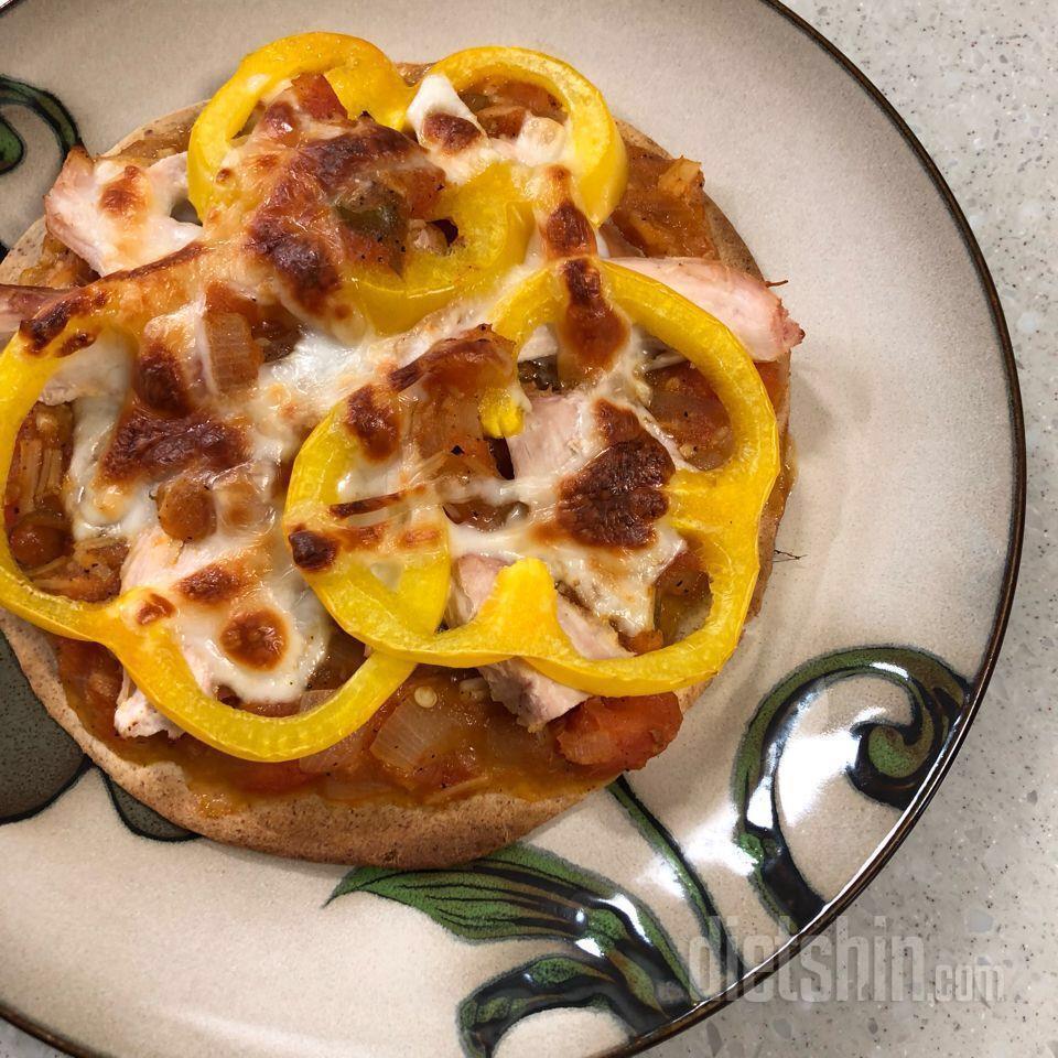 다이어트 피자(레시피 자세히 수정!)