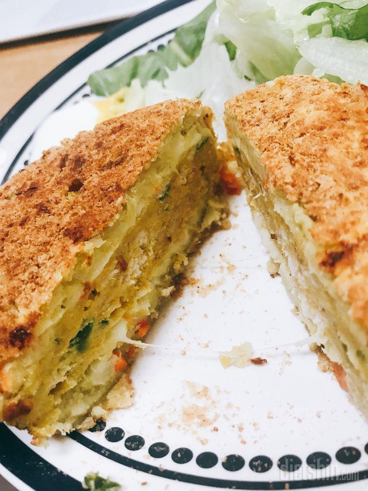 고구마 치즈 돈까스