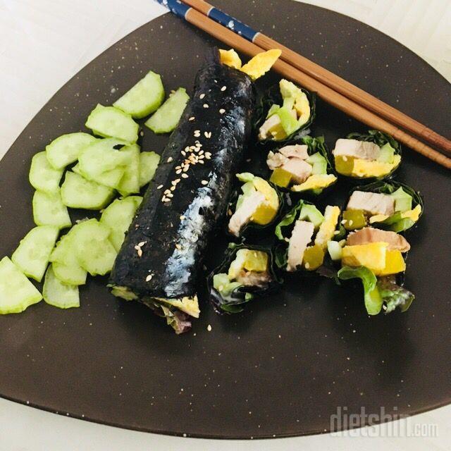닭가슴살 김밥