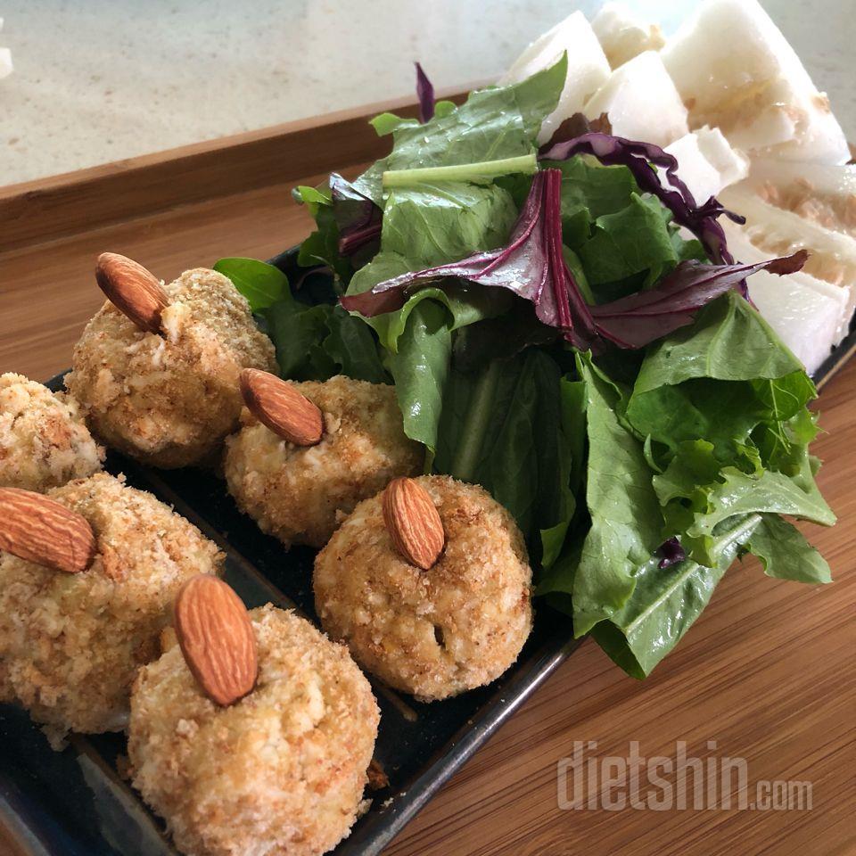 두부닭가슴살유부초밥&고구마계란닭가슴살볼