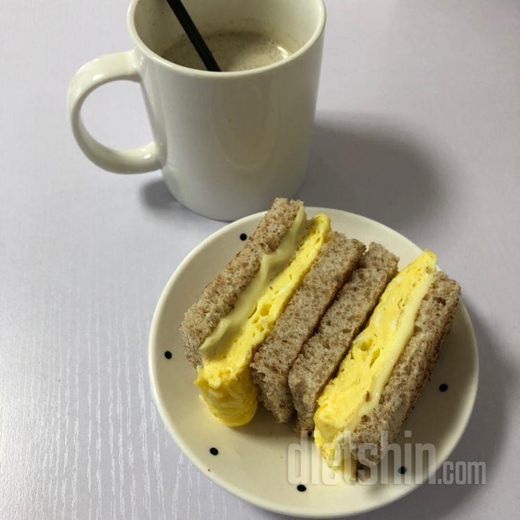 계란말이 샌드위치