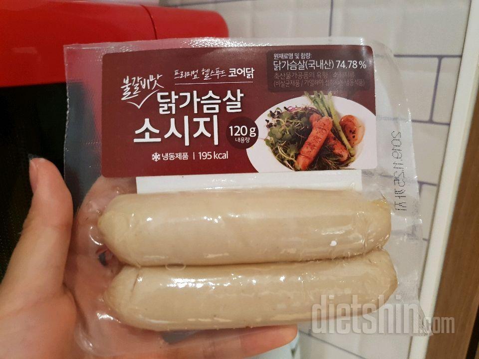 바쁜 아침 초스피드로, 코어닭소시지(불갈비맛)
