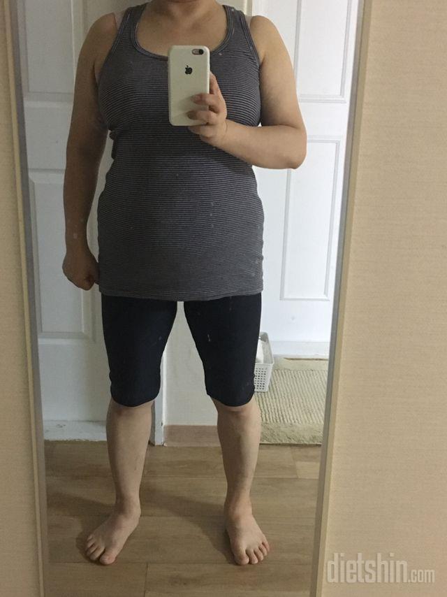 [다신13기 필수 미션]체중,전신 인증(체중 인증 촬영 사진)