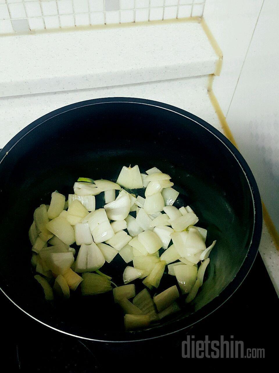 토마토야채스튜 + 닭가슴살