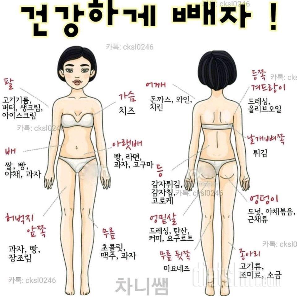다이어트 자극사진