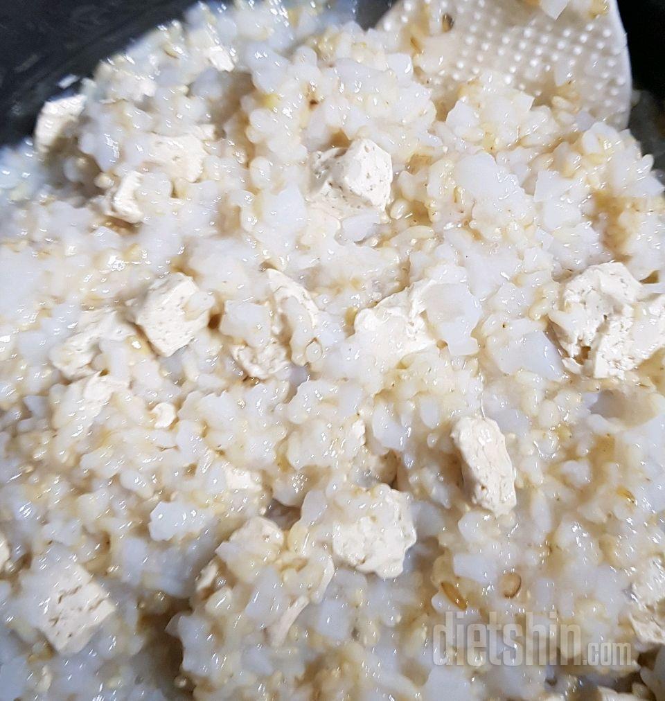 포만감100%두부곤약밥