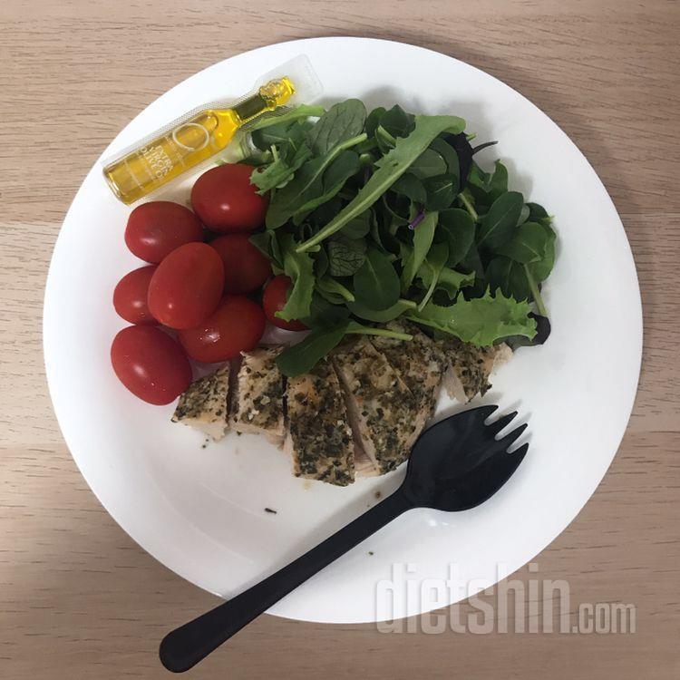 다이어트 시작 후 첫 저녁 식단