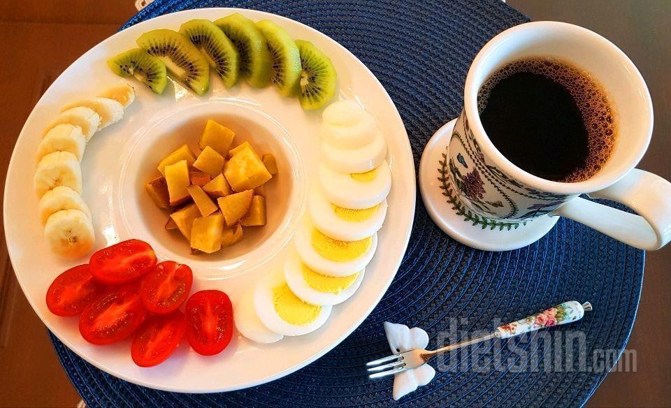10개월(64kg~52kg)동안의 아침식단