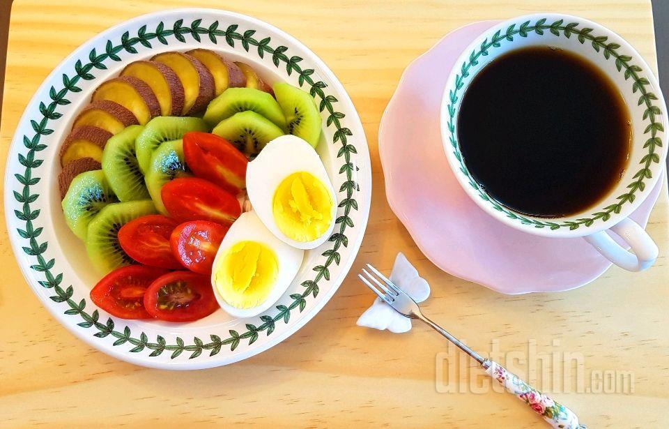 오늘 아침식단
