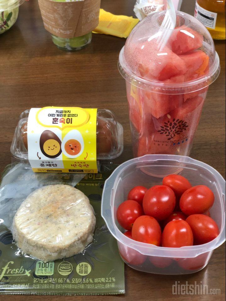어제, 오늘 점심