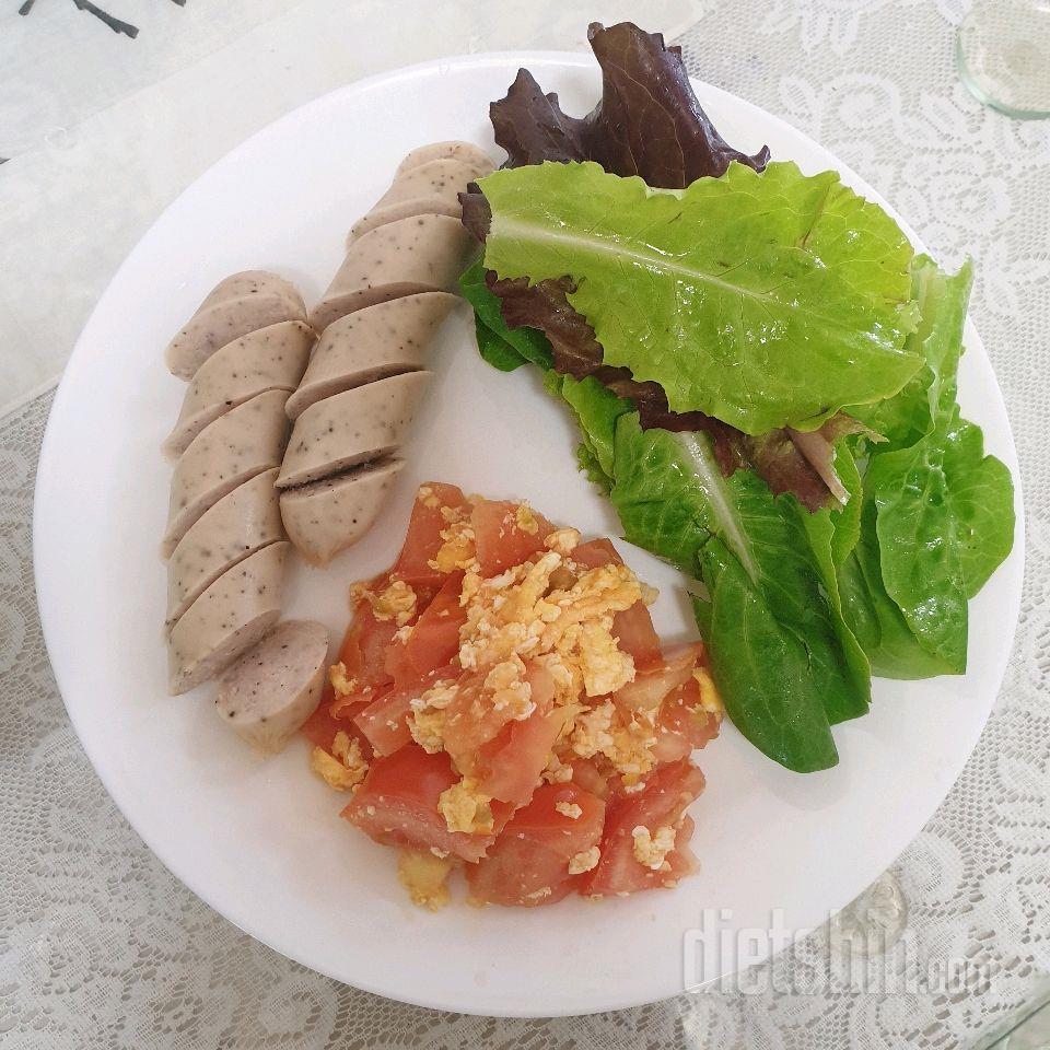토요일 점심(320칼로리)