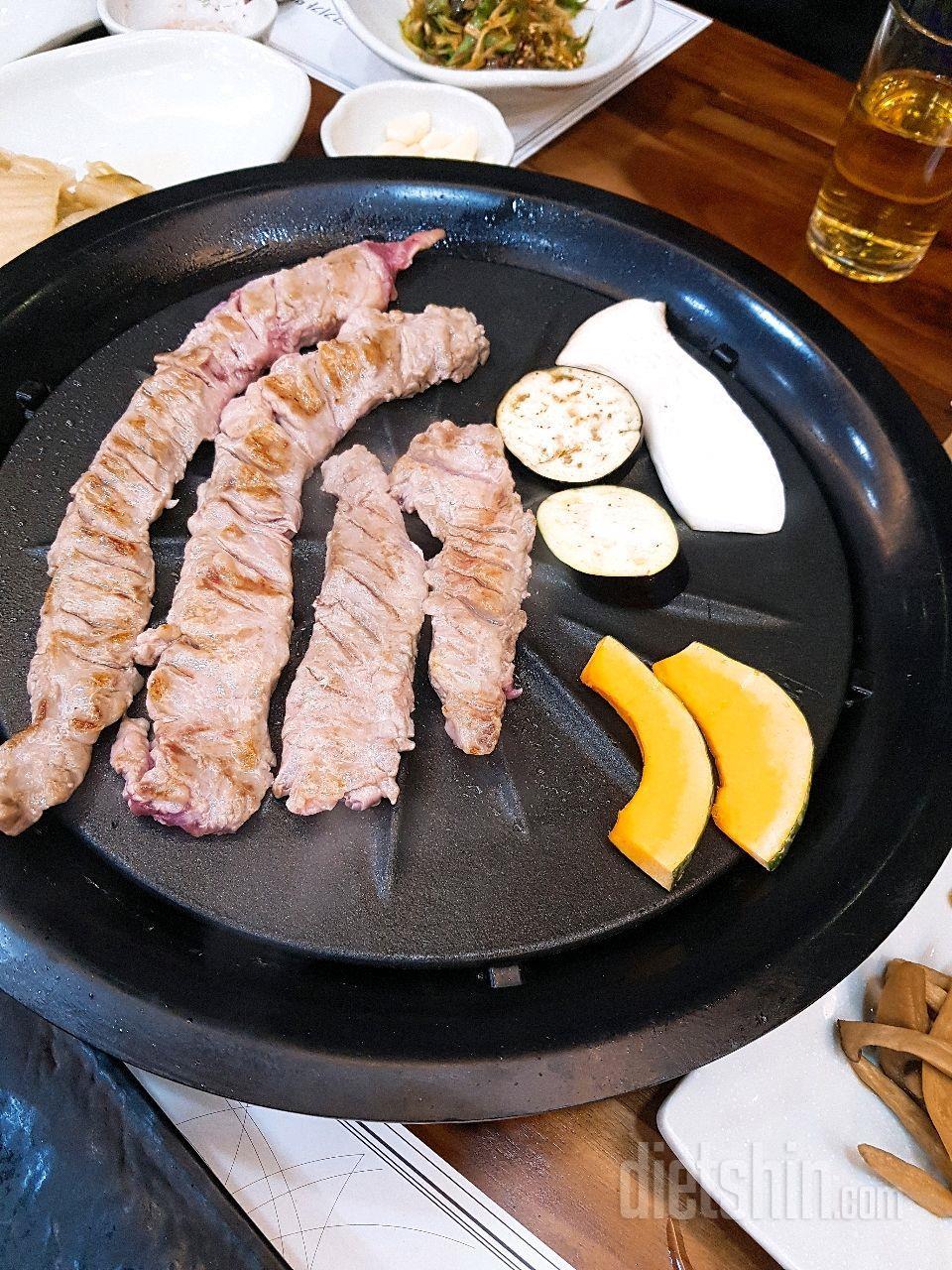 고기먹고 밥안먹기