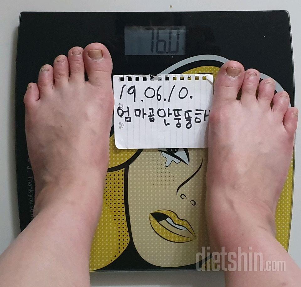 [다신14기 필수미션] 체중,전신사진 등록