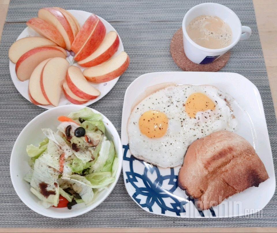 2일차 아침 (490 kcal)