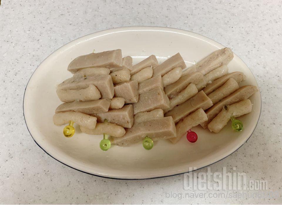 다이어트 떡꼬치 저칼로리 소떡소떡 만들기[+곤약현미떡볶이&코어닭소세지]