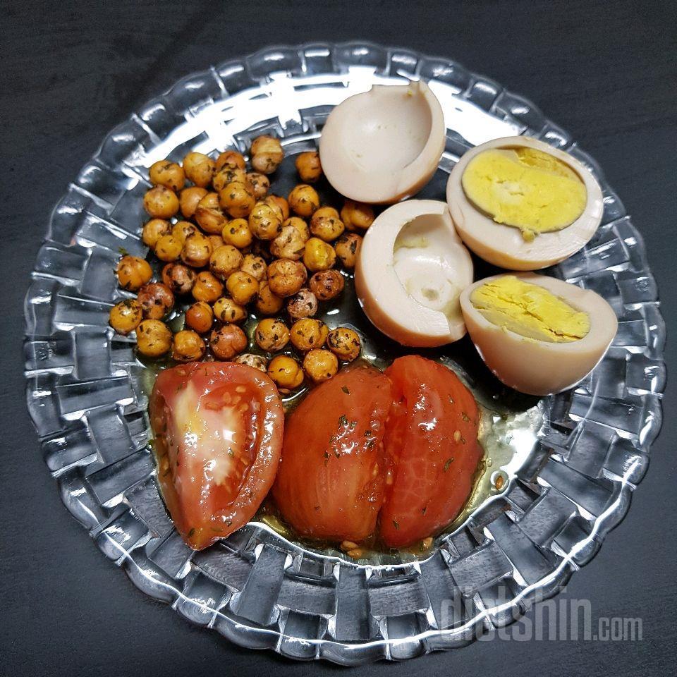 토마토마리네이드, 병아리콩