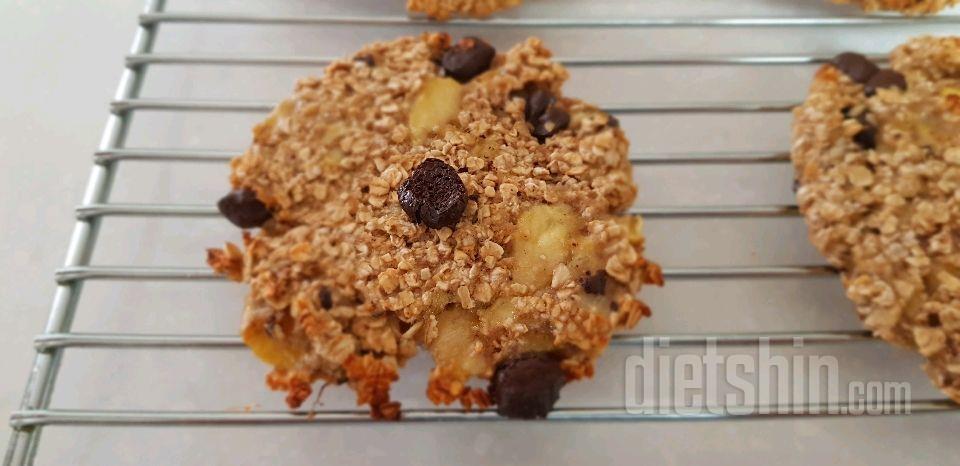 바나나 오트 초코칩 쿠키