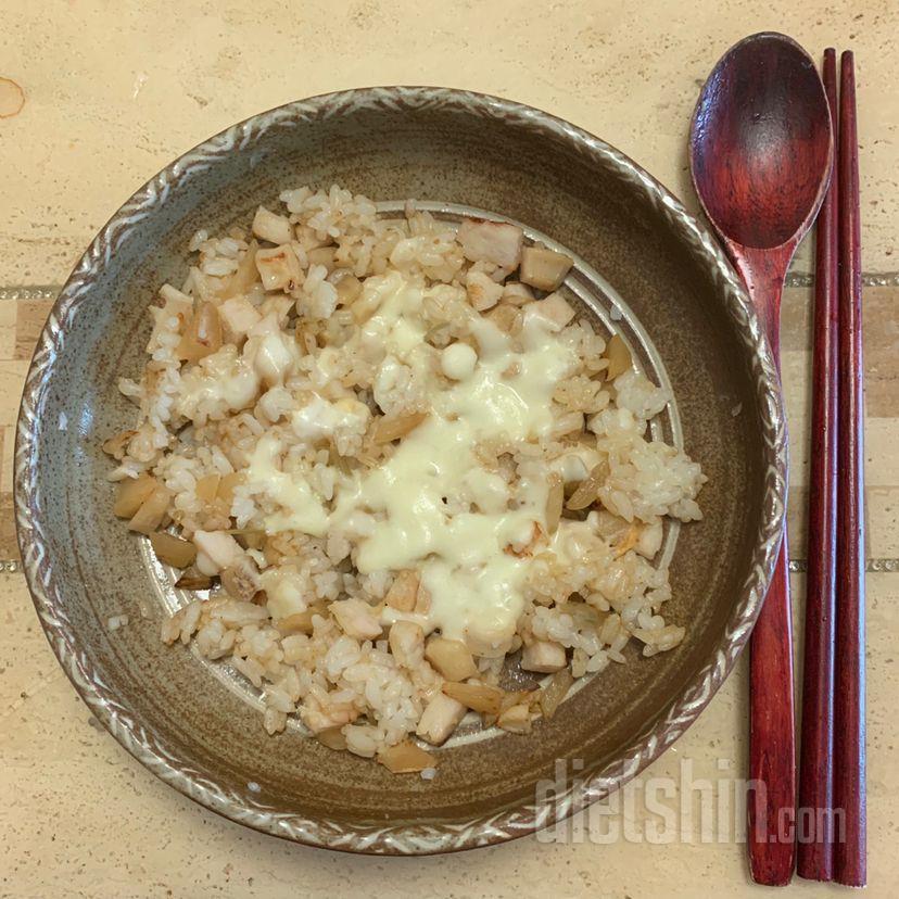 다이어터 버전 김치밥